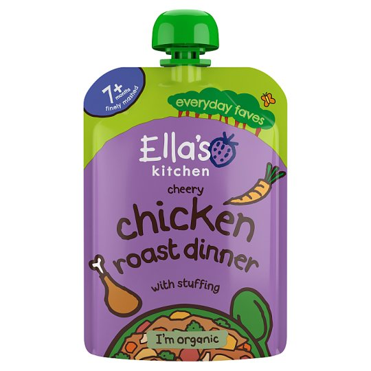 Ella's Kitchen Cheery Chicken Roast Dinner 130G