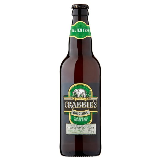 image 1 of Crabbies Alcoholic Ginger Beer 500Ml