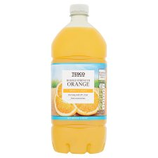 Tesco Double Strength Orange Squash No Added Sugar 1.5L