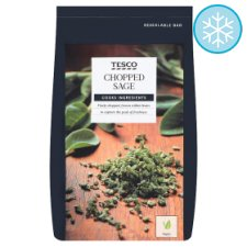 Tesco Chopped Sage 50G