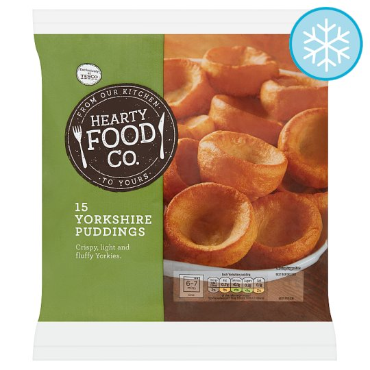 Hearty Food Co. 15 Yorkshire Puddings 230G