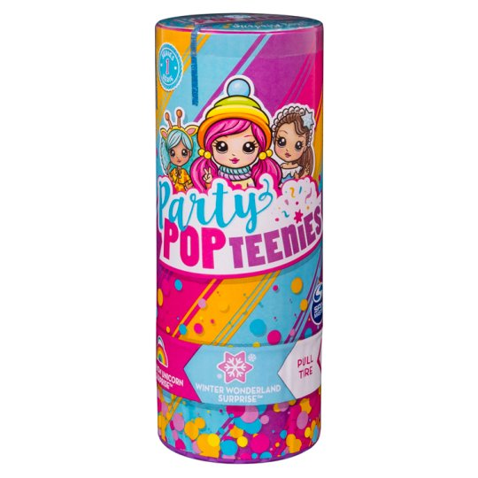 Party Popteenis Surprise Poppers