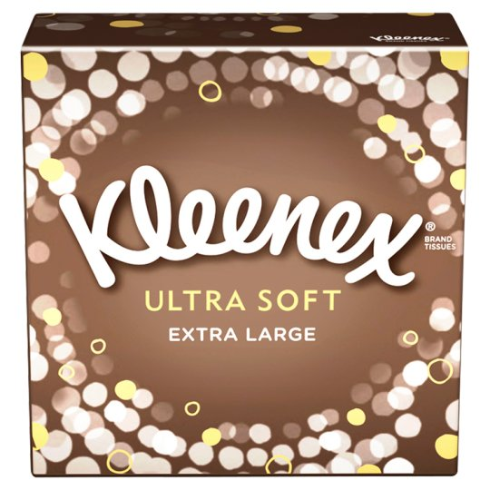 kleenex ultra soft compact tissue mansize 44s tesco groceries