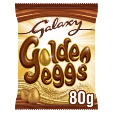 Galaxy Golden Milk Chocolate Mini Eggs 80G