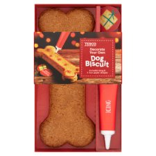 Tesco Decorate Your Own Dog Gingerbread Dog Biscuit X1