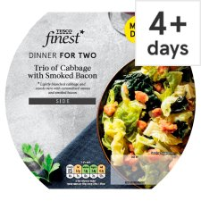 Fmd Tesco Finest Trio Of Cabbage 200G