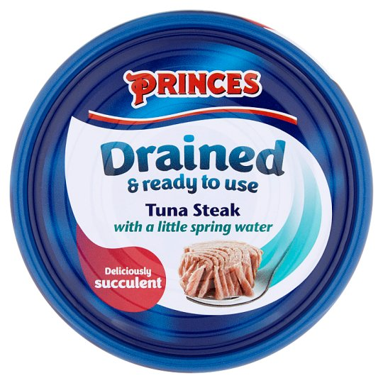 image 1 of Princes Drained Tuna Steak In Spring Water 120G