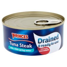 image 2 of Princes Drained Tuna Steak In Spring Water 120G