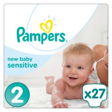 Pampers New Baby Sensitive Carry Pack Size 2 X27