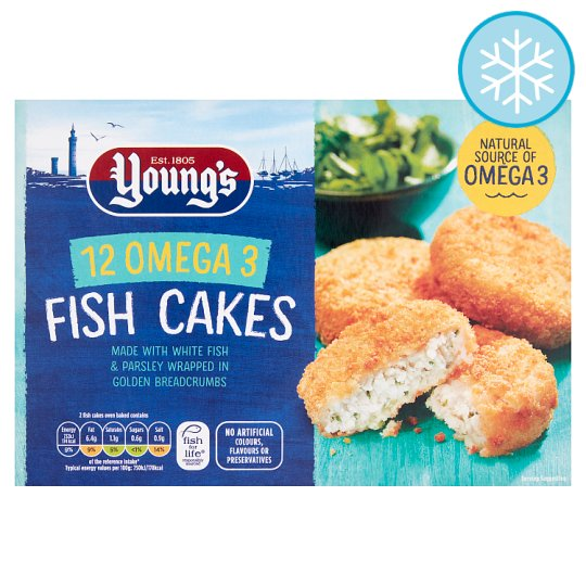 Youngs 12 Fish Cakes 600g Groceries Tesco Groceries