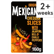 Mexicana Hot Cheddar Cheese Slices 160 G