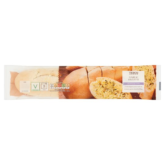 Tesco Garlic Baguette 215 G
