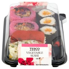 Tesco Vegetable Sushi 143G
