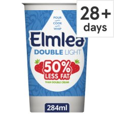 Elmlea Double Light Cream Alternative 284Ml