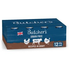 Butcher's Recipe In Gravy Dog Food Tin 12X400g