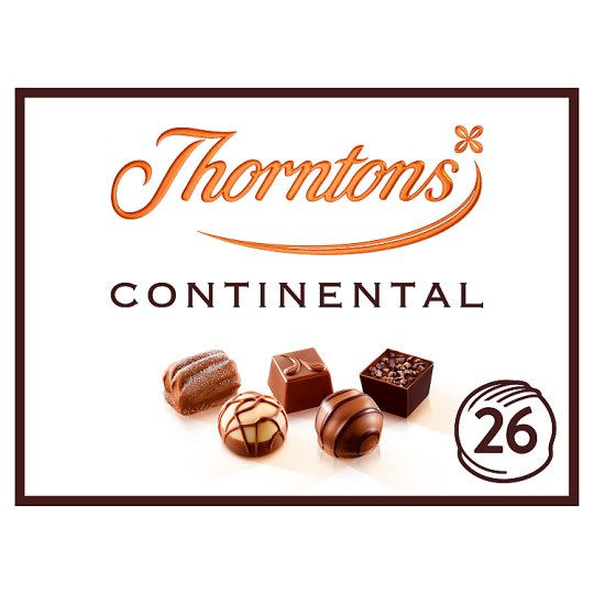 Thorntons Dark Continental Milk White Chocolates 284G