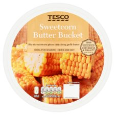Tesco Sweetcorn Bites With Cheese Garlic Butter 310G