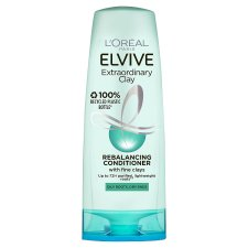 L'oreal Elvive Clay Oily Roots Conditioner 300Ml