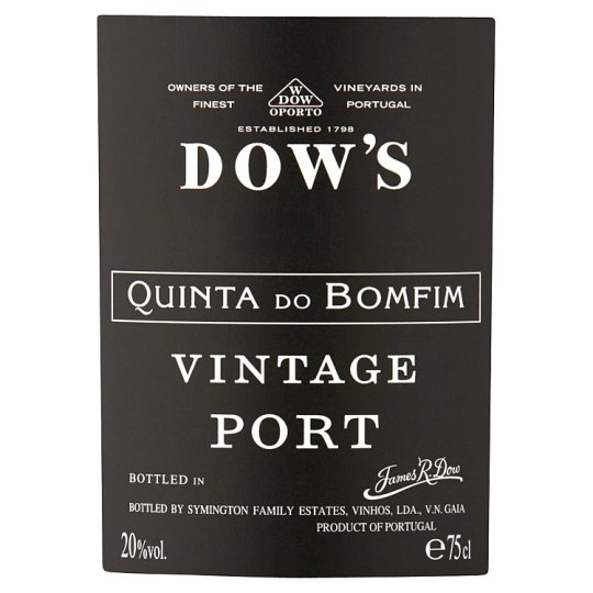 Dows Quinta Do Bomfim Vintage Port 75Cl