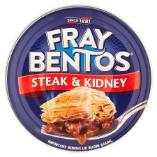 Fray Bentos Steak And Kidney Pie 213G