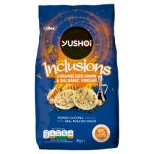 Yushoi Inclusion Chickpea Caramelised Onion And Balsamic Vinegar 85G