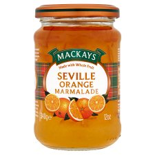 Mackays Natural Fruit Seville Orange Marmalade 340G