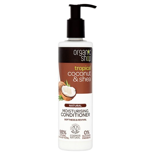 Organic Shop Coconut And Shea Conditioner 280Ml