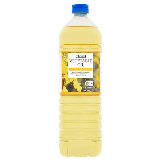 Tesco Pure Vegetable Oil 1l Groceries Tesco Groceries