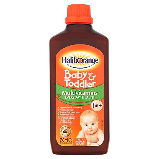 Haliborange Multi Vitamins Orange Liquid 250Ml