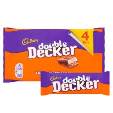 image 2 of Cadbury Double Decker 4 Pack 188G