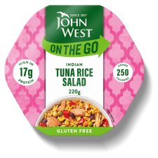 John West Light Lunch Mild Curry Tuna Salad 220G