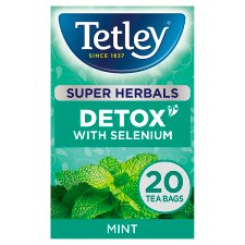Tetley Super Detox Mint 20 Tea Bags 40G