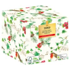 Tesco Satin Soft Decorated Tissue 60'S