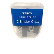 Tesco Binder Clips