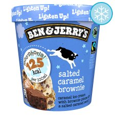 Ben & Jerry's Salted Caramel Brownie Ice Cream Moophoria 465Ml