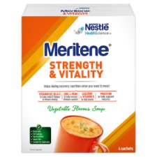 Meritene Strength And Vitality Vegetable Soup 4X50g