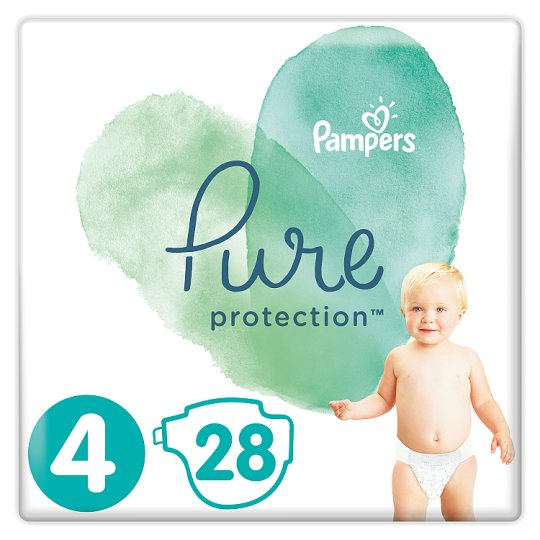 image 1 of Pampers Pure Protection Size4 28 Nappies