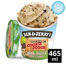 Ben & Jerry's Non Dairy Cookies On Ckie/ Dgh Ice Cream 465Ml