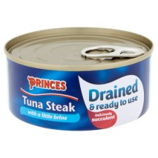 image 2 of Princes Drained Tuna Steak In Brine 120G