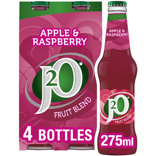 Britvic J2o Apple And Raspberry Fruit 4 X 275Ml