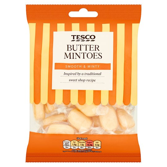 Tesco Butter Mintoes 200G