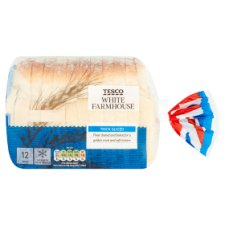 Tesco Small White Bread 440G