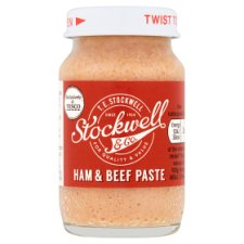 Stockwell And Co Ham And Beef Paste 75G