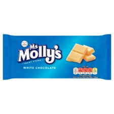 Ms Molly's White Chocolate Bar 100G