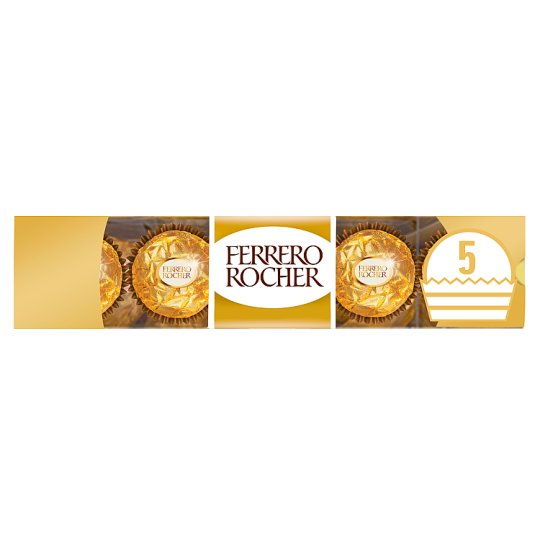 Ferrero Rocher 5 Pieces Boxed Chocolates 62.5G