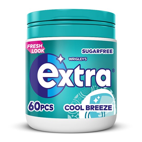 Extra Coolbreeze 60 Piece Bottle 84G