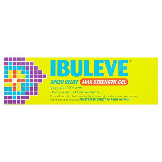 image 1 of Ibuleve Speed Relief Max Strength Gel 40G