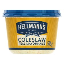 Hellmann's Coleslaw With Real Mayonnaise 500G