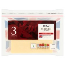 Tesco British Mature Cheddar Cheese 460G