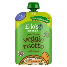 Ella's Kitchen Veggie Risotto With Cheese 130G